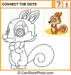0116_20 connect the dots - Connect the dots, preschool...