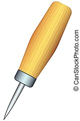 Awl - Illustration of the awl tool
