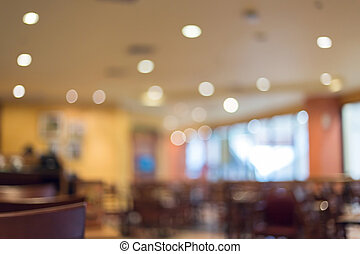 mage blur background, restaurant interior - image blur...