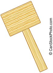 Mallet - Illustration of the mallet icon