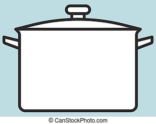 Saucepan - Illustration of the saucepan icon