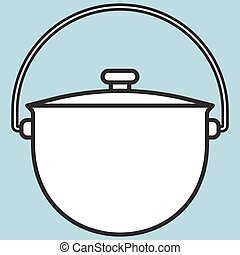 Kettle - Illustration of the kettle icon