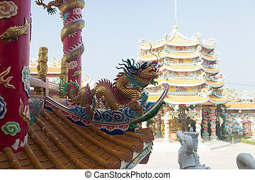 Old Buddhist temple - The old Buddhist temple costs waiting...