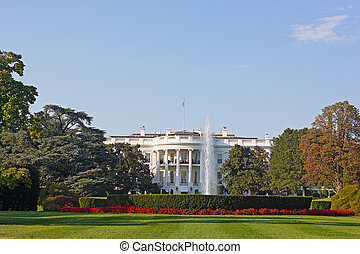 The White House in US capital - The White House and...
