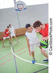 baskteball game
