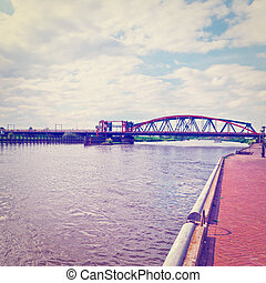 Railway Bridge - The Railway Bridge over the River Ijssel...
