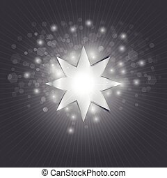 Starlight - An illustration of a bright star ready to use as...