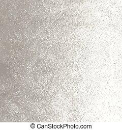 Metal foil background - Vector silver foil background...