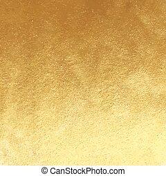 Golden foil background - Vector golden foil background...
