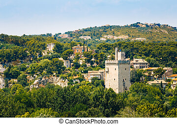 Tower Philippe le Bel, Villeneuve les Avignon, France - The...