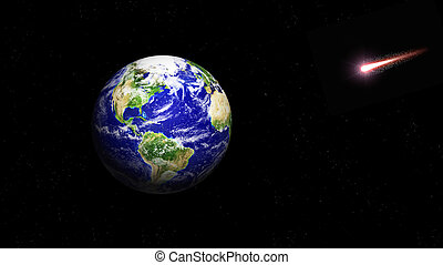 planet earth in space - planet earth