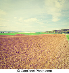 Plowed Fields - Spring Plowed Fields in Germany, Instagram...
