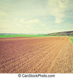 Plowed Fields - Spring Plowed Fields in Germany, Instagram...