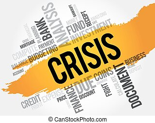 CRISIS word cloud