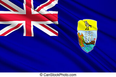Flag of Saint Helena, Ascension and Tristan da Cunha,...