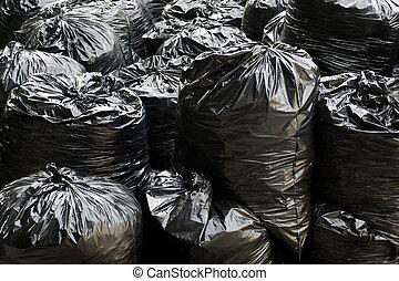 Lixo, sacolas