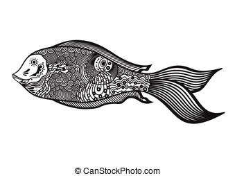 Extracto, pez