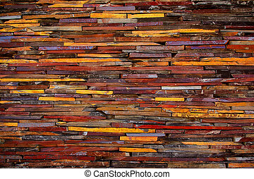 Stone Blades - Background detail of aged and colorful stone...