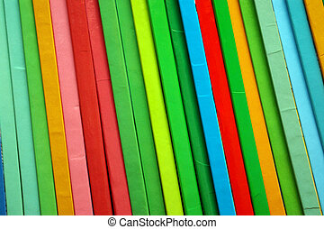 Colorful Books - Background of colorful childrens books...