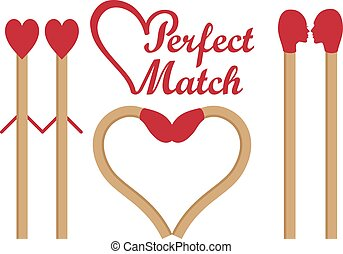 Perfect match, vector set