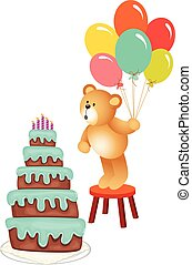Teddy bear Birthday