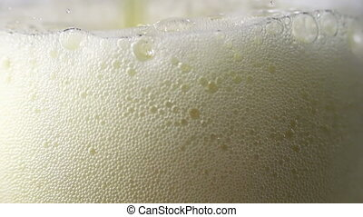 Beer is Poured in a Glass 1