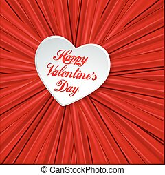 Valentine red background - Valentine card