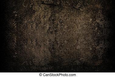 Grunge, cemento, pared, textura, para, Extracto, Plano de...