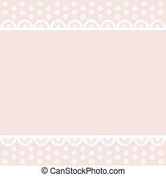 Baby pink vector background in pastel tones