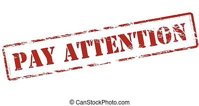 Pay attention Stock Illustration Images. 972 Pay attention ... Pay Attention Clipart