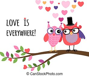 Owl Happy Valentines Day