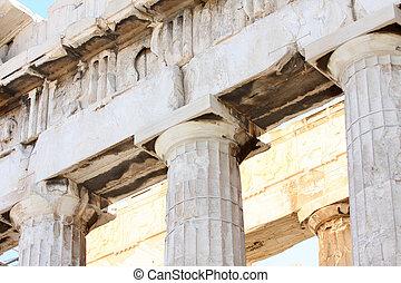 Acropolis - details of Parthenon, Acropolis in Athens ?...