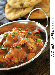 chicken balti curry meal