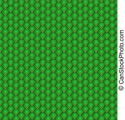 Reptile Scales Seamless Pattern - Reptile Green Scales...