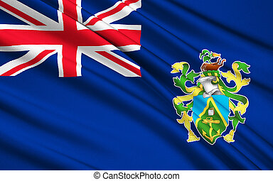 Flag of Isla de Pascua Chile, Hanga Roa - Polynesia - The...