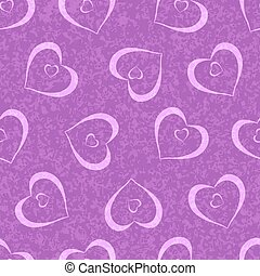 Seamless heart pattern for background