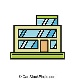 Vector Clip Art of General Store - general store illustration ...