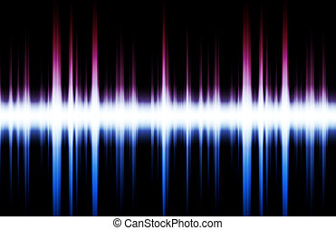 Music Inspired DJ Abstract Background - Music Inspired DJ as...