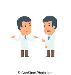 Frustrated Character Doctor can not help to solve the problem