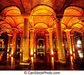 Basilica Cistern - Istanbul Turkey - Turkey Istanbul...