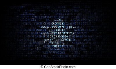 virus bug in program code The concept of an infected program...