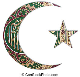 Half Moon - The Half Moon and Quran