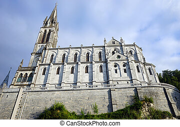 Notre-Dame de l'Immaculee-Conception - LOURDES, FRANCE -...