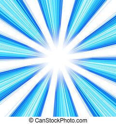 Błękitny, Abstrakcyjny, Wir