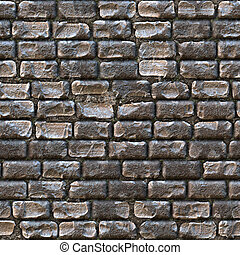 Cobblestone Texture - Seamless cobblestone path that works...