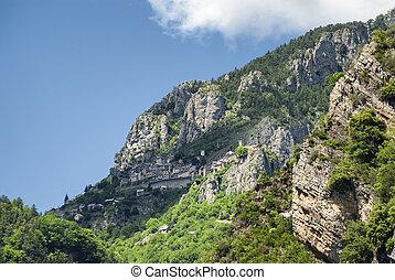 Col de la Couillole French Alps - Road of Col de la...