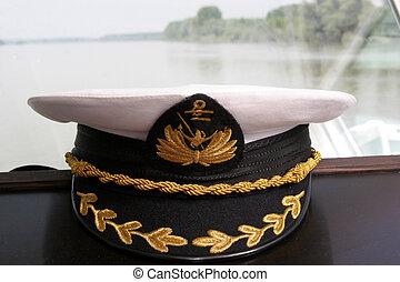 transbordador, gorra
