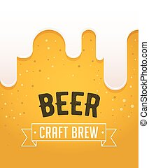 Beer festival in the city, event poster - Beer festival in...