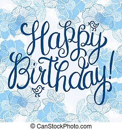 Happy birthday greeteng card - Happy birthday greeting card...