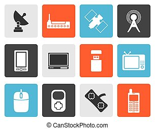 technology and Communications icons
